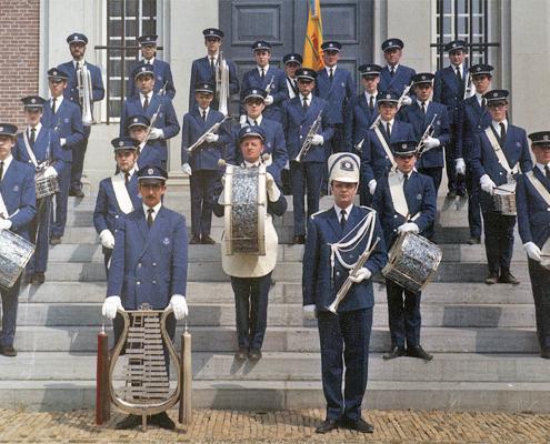 Tambour- en trompettenkorps